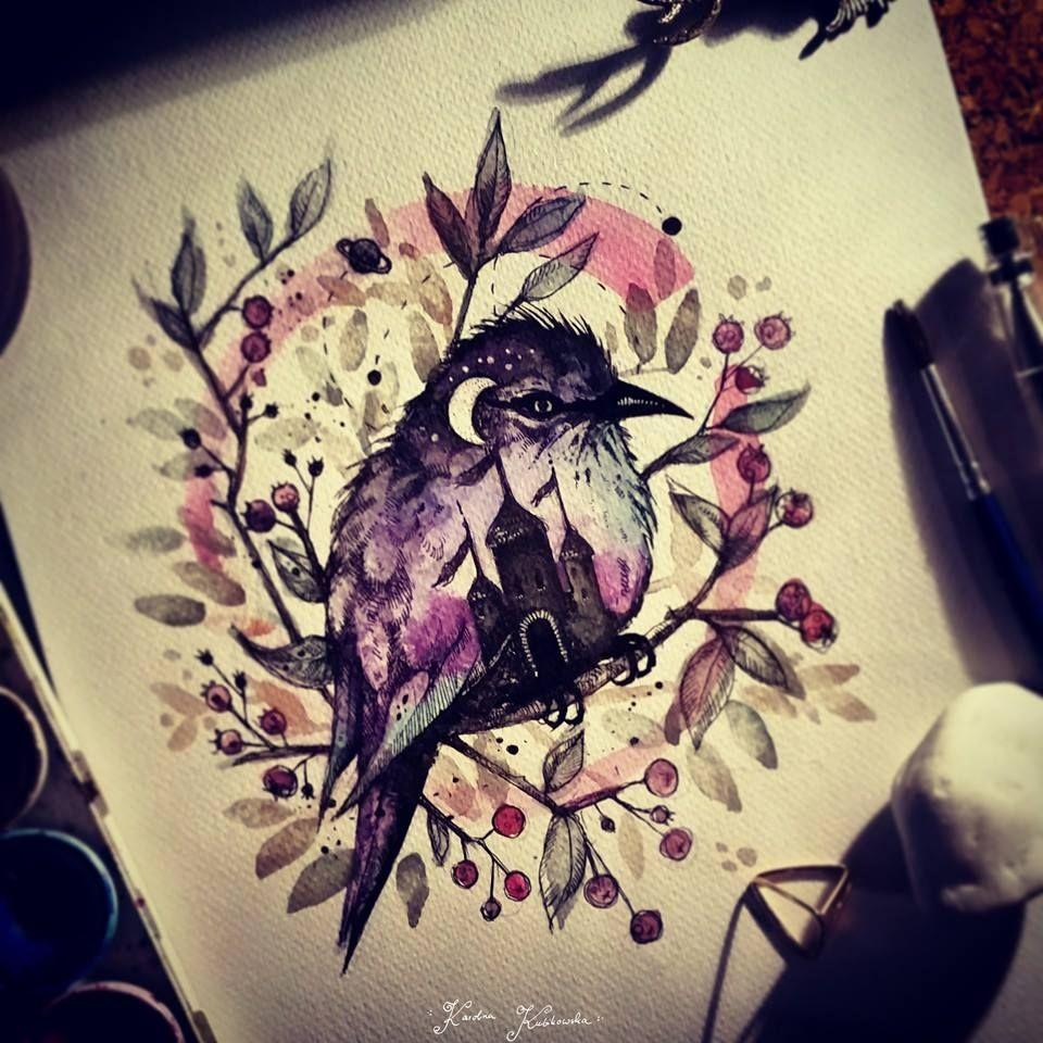Tattoo idea by Karolina Kubikowska vel Emily's Moose.