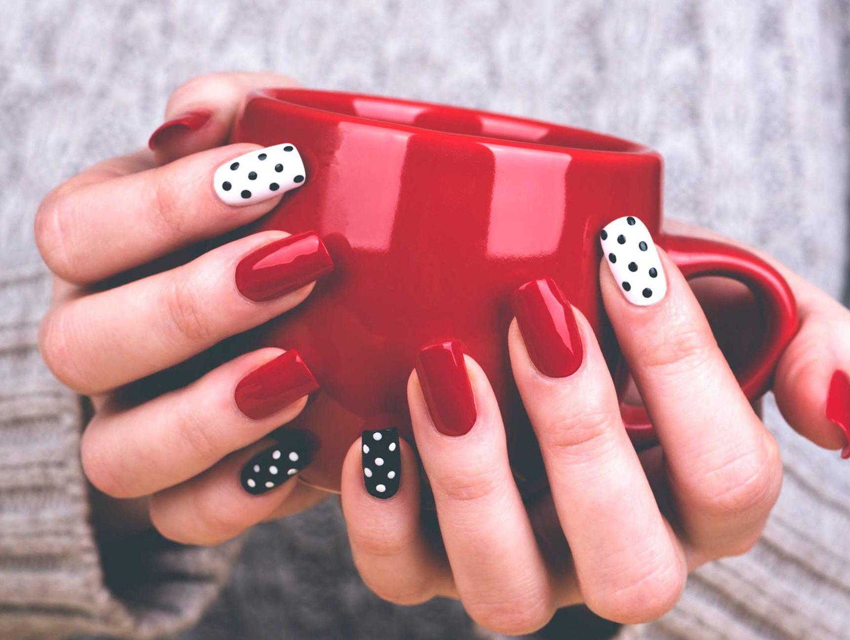 Дизайны ногтей картинки легкие