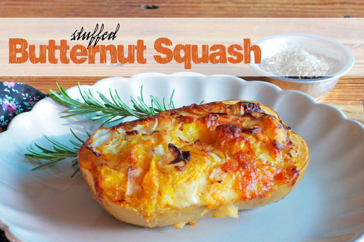 Stuffed Butternut Squash