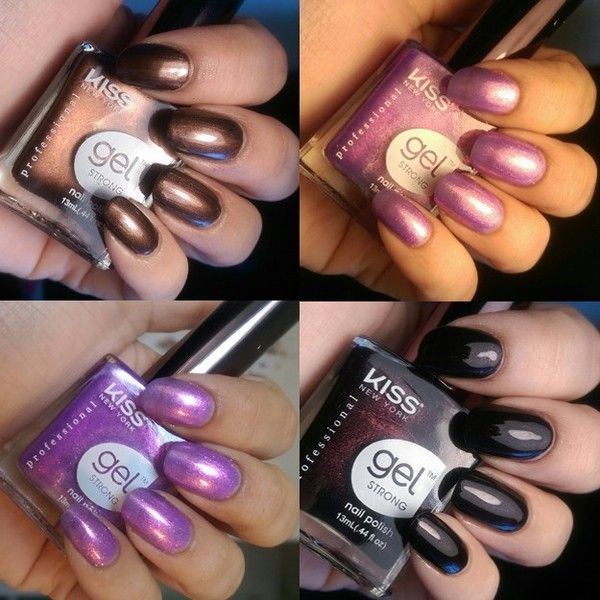Beautiful Gel Strong Nail Polish in 30 colours. Very intense colours ...
