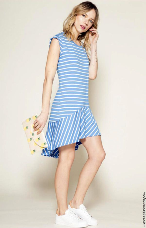 Moda en vestidos primavera verano