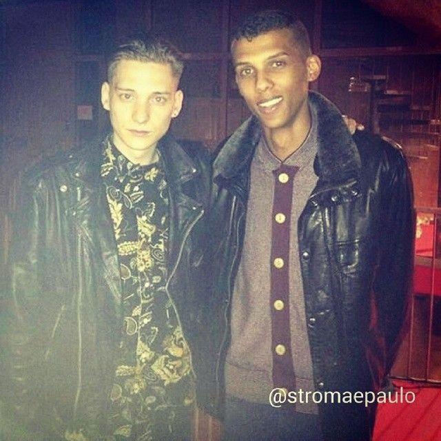 Stromae et Thomas Azier! :D #stromae #thomasazier #pvh #paulvanhaver #cute #bellodamorire