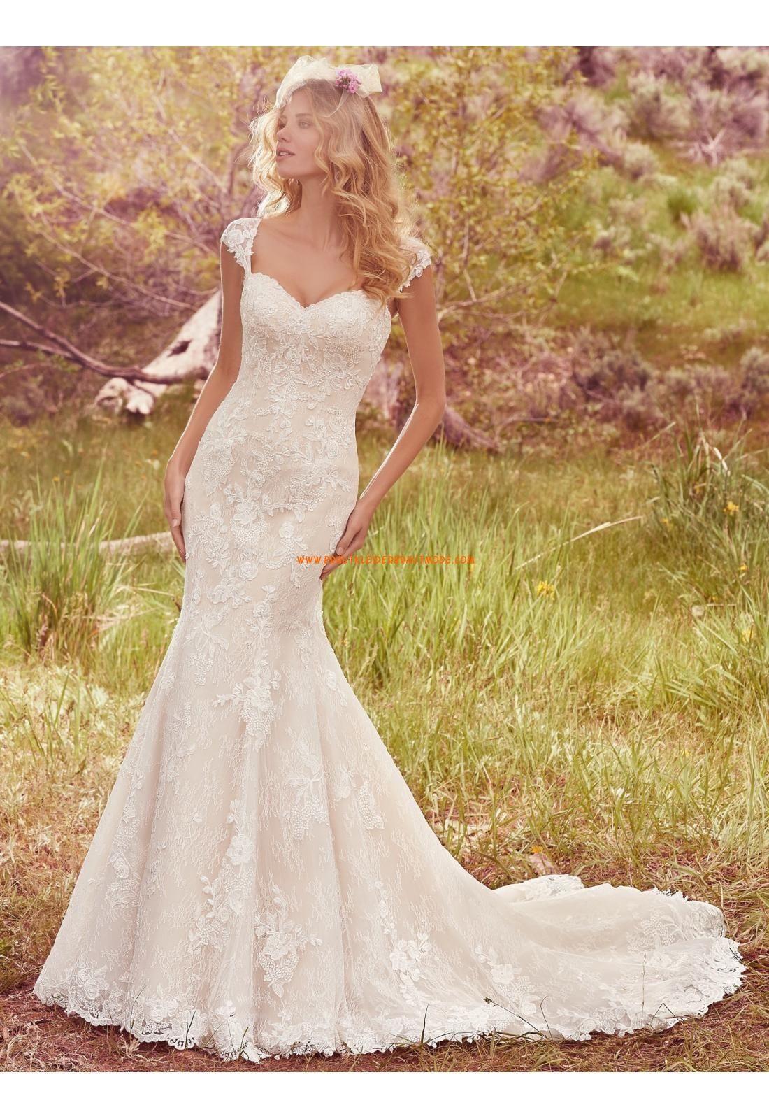 Meerjungfrau Luxuriöse Wunderschöne Brautkleider aus Tüll mit ...