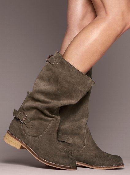 Ladies shoes Tassie Suede Boot Kelsi Dagger Victoria s Secret 7419 |2013 Fashion High Heels|