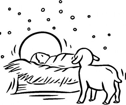 Printable Manger Coloring Page Google Search Nativity Coloring Pages Nativity Coloring Christmas Drawing