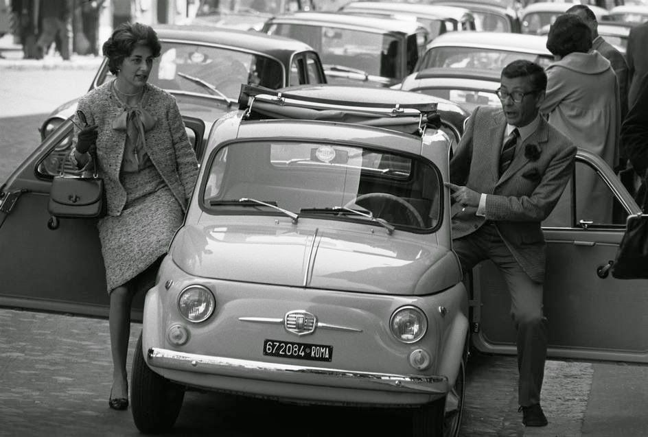 vintage everyday: 60 Amazing Photographs of Street Scenes of Rome, Italy in the…