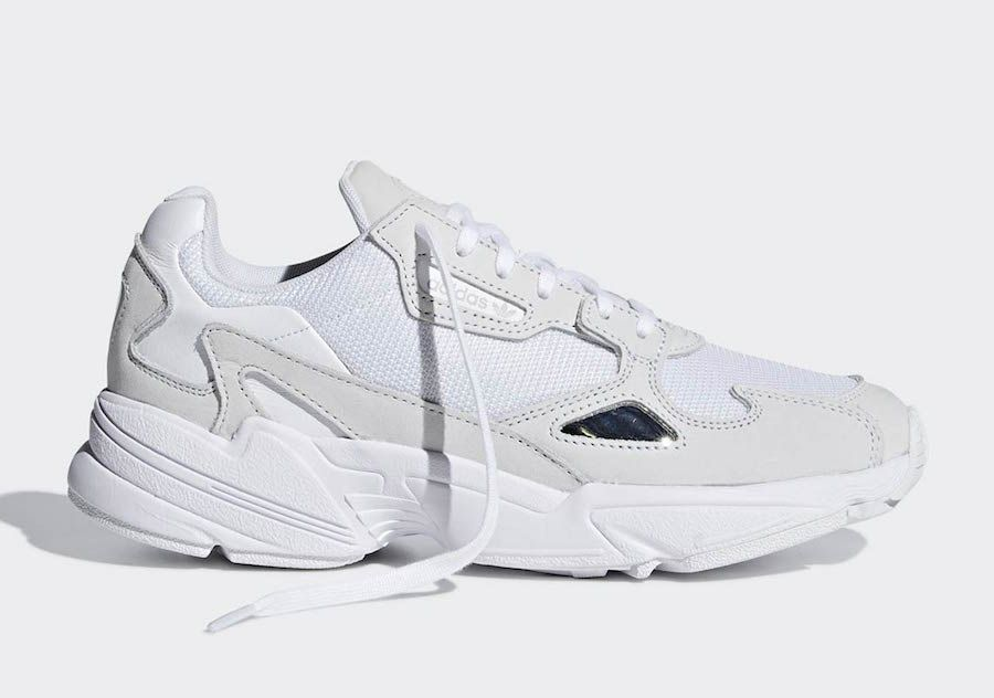 adidas Falcon Triple White B28128 Release Date | closet de