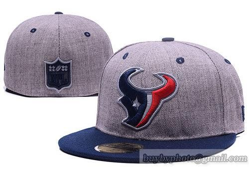 houston texans fitted hats