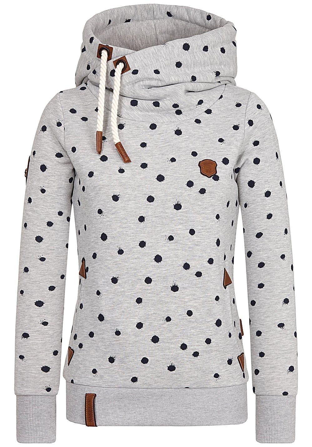 Naketano Genitalalarm Kapuzenpullover für Damen #pullover