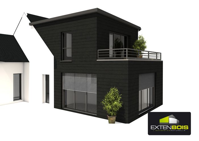 Extension ile et vilaine 1 extension with style for Agrandissement maison plan