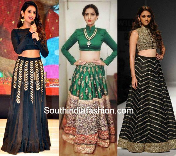 cf8cbaefc High Neck Lehenga Blouses Lehenga Blouse, South India, India Fashion, Work  Wear,