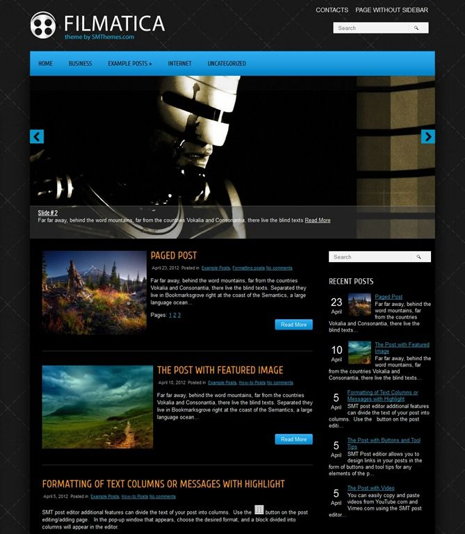 45 Free WordPress Themes | WordPress | Pinterest