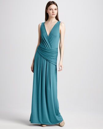 I think this would look better on someone with curves! I want it! Denise Jersey Maxi Dress by Elie Tahari at Neiman Marcus.