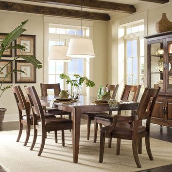 Klaussner Furniture Carturra Dining Tablelike This Table A Lot Custom Klaussner Dining Room Furniture Decorating Design