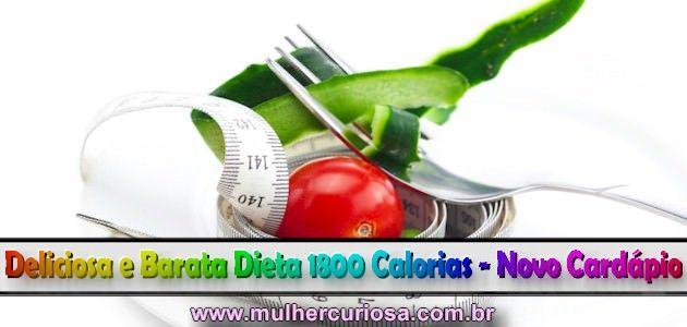 Dieta de 1800 calorias emagrece quantos quilos