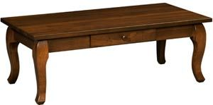 Amish Outlet Store : Cascade Coffee Table in Cherry
