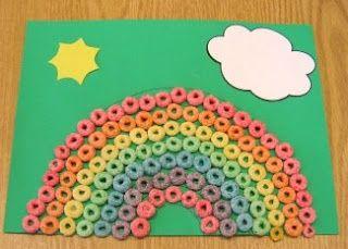 Photo of Cereal, hojas de color y resistol, ¡tu pequeñito estará muy entretenido! Summ…
