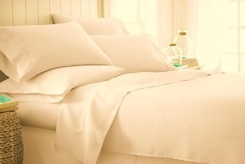 Microfiber Enjoy Home Linen Bed Sheet Set (6 Piece) @ Just $29.99 And
