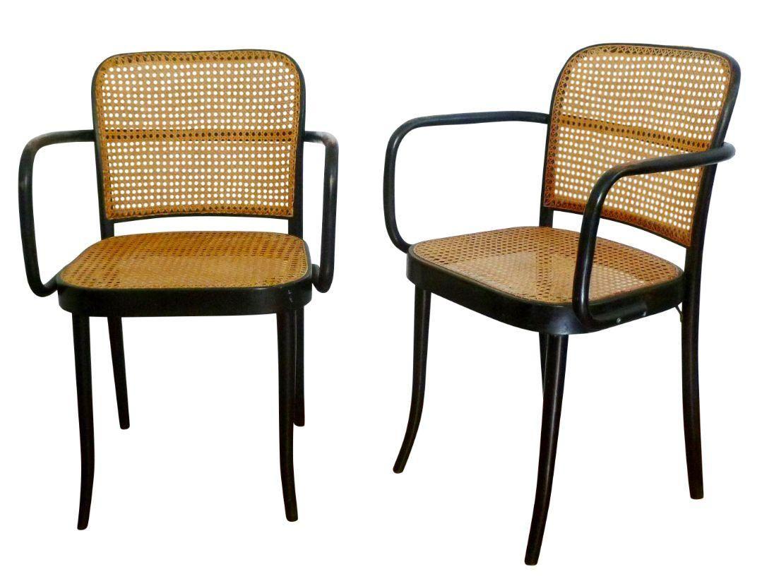 811 Stendig Bentwood Chairs Pair   Chairish