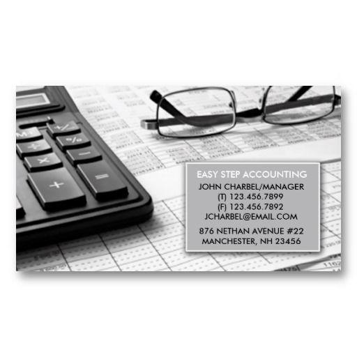 Accountant Business Card   Zazzle.com   Business Cards ...