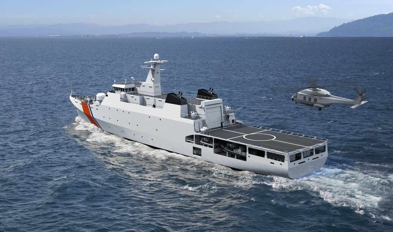 The Damen Offshore Patrol Vessel Is Specifically Developed