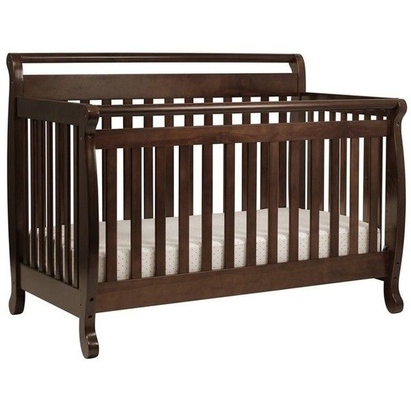 DaVinci Emily 4-in-1 Convertible Wood Baby Crib with Toddler Rail ...