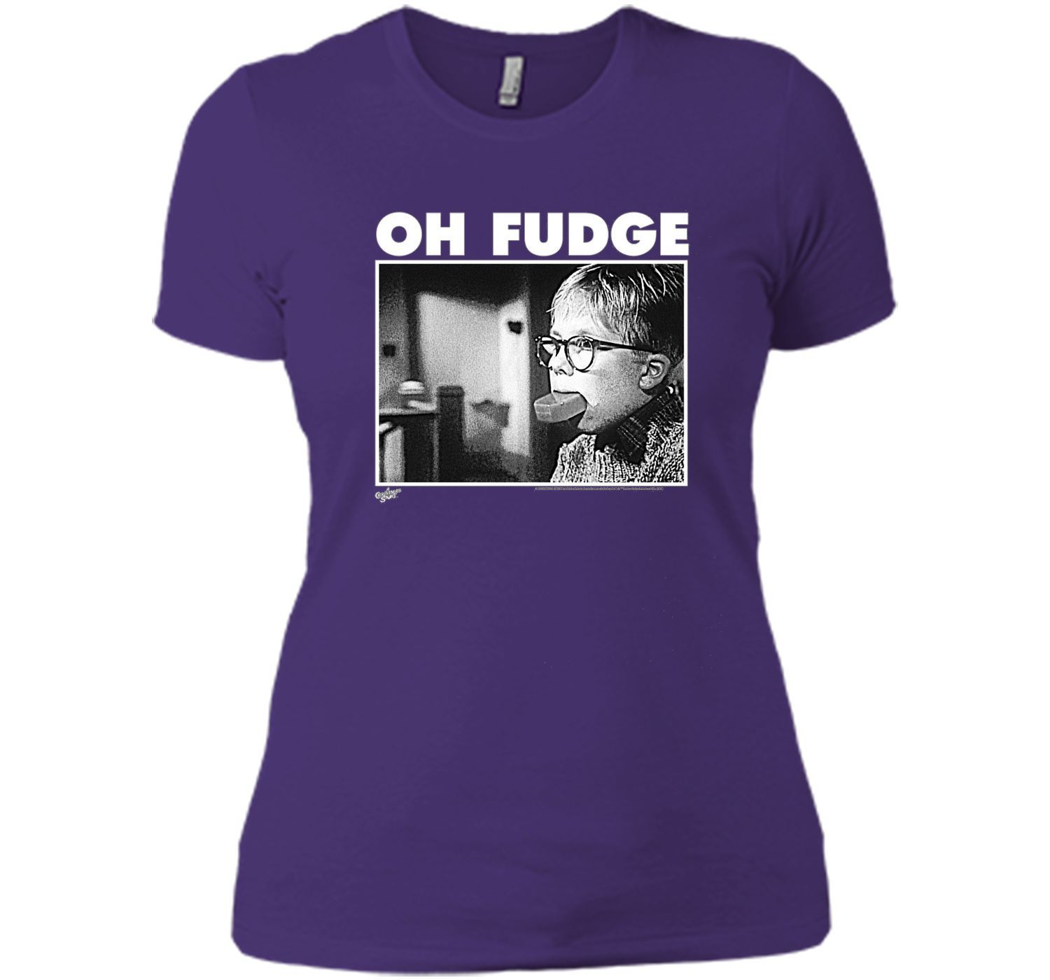 A Christmas Story Oh Fudge Soap Pic t-shirt   Products   Pinterest ...