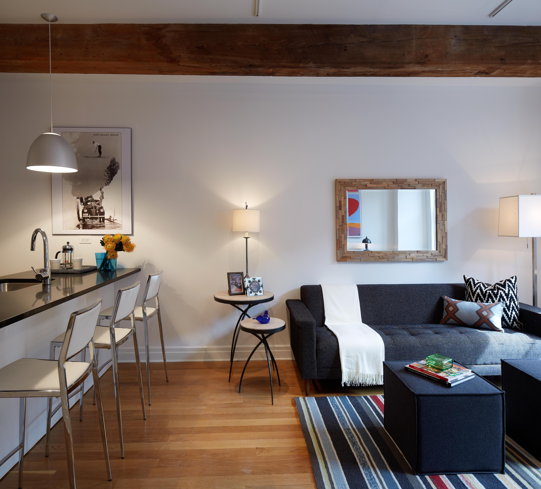 gus modern harbord sofa and jasper cubes in the washington street