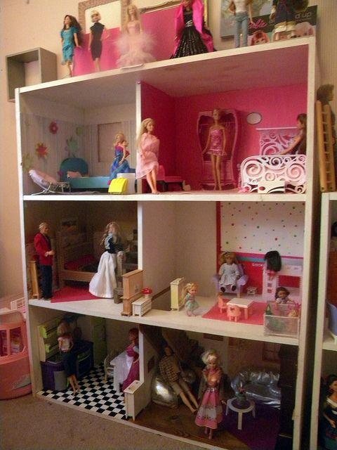 Barbie House For Evie Bookshelf