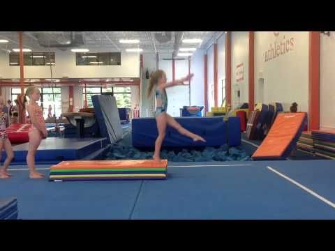 Compulsory Vault Drill Gymnastics Conditioning Tumbling