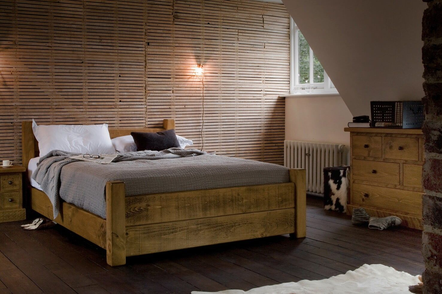 The Crofter S Plank Bed