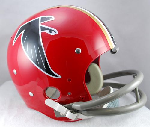 Atlanta Falcons 1966 To 1969 Tk Throwback Football Helmet Football Helmets Atlanta Falcons Helmet Nfl Football Helmets