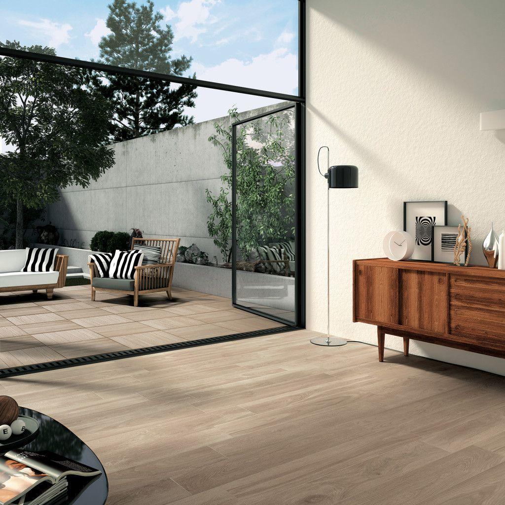 Keramisch parket geef je interieur of terras een warm gevoel van hout maar idee n voor huis - Terras hout ...