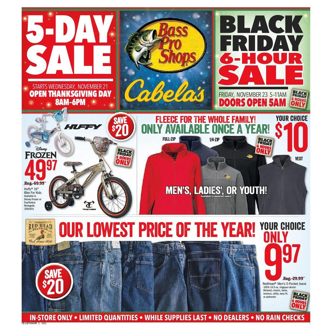 Bass Pro Shops 2019 Black Friday Ad Black Friday Ads Black Friday Shopping Black Friday