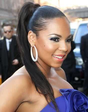 Cute ponytail hairstyles for black women ponytails pinterest cute ponytail hairstyles for black women pmusecretfo Images