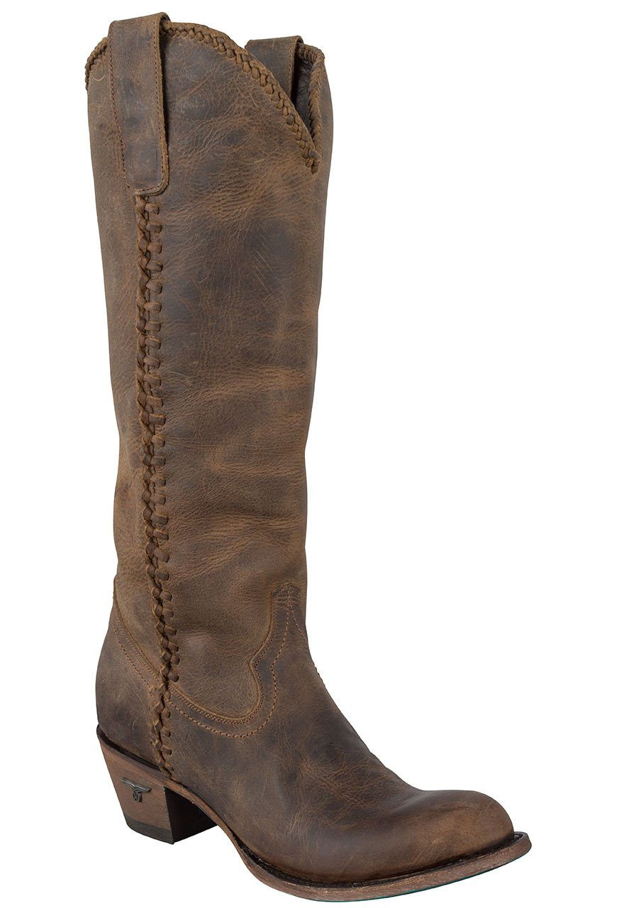 85ee59f30ee Lane Women's Distressed Brown Plain Jane Boots | My Style | Boots ...