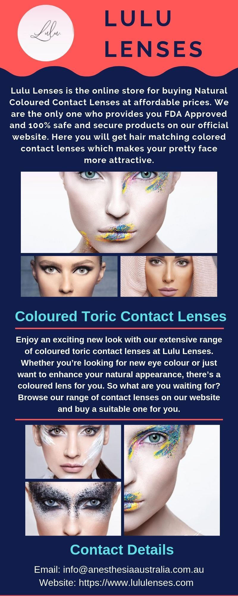 Www Lululenses Co Lulu Lenses Offers The Best Quality Of Contact Lenses To Www L In 2020 Coloured Contact Lenses Toric Contact Lenses Contact Lenses Online