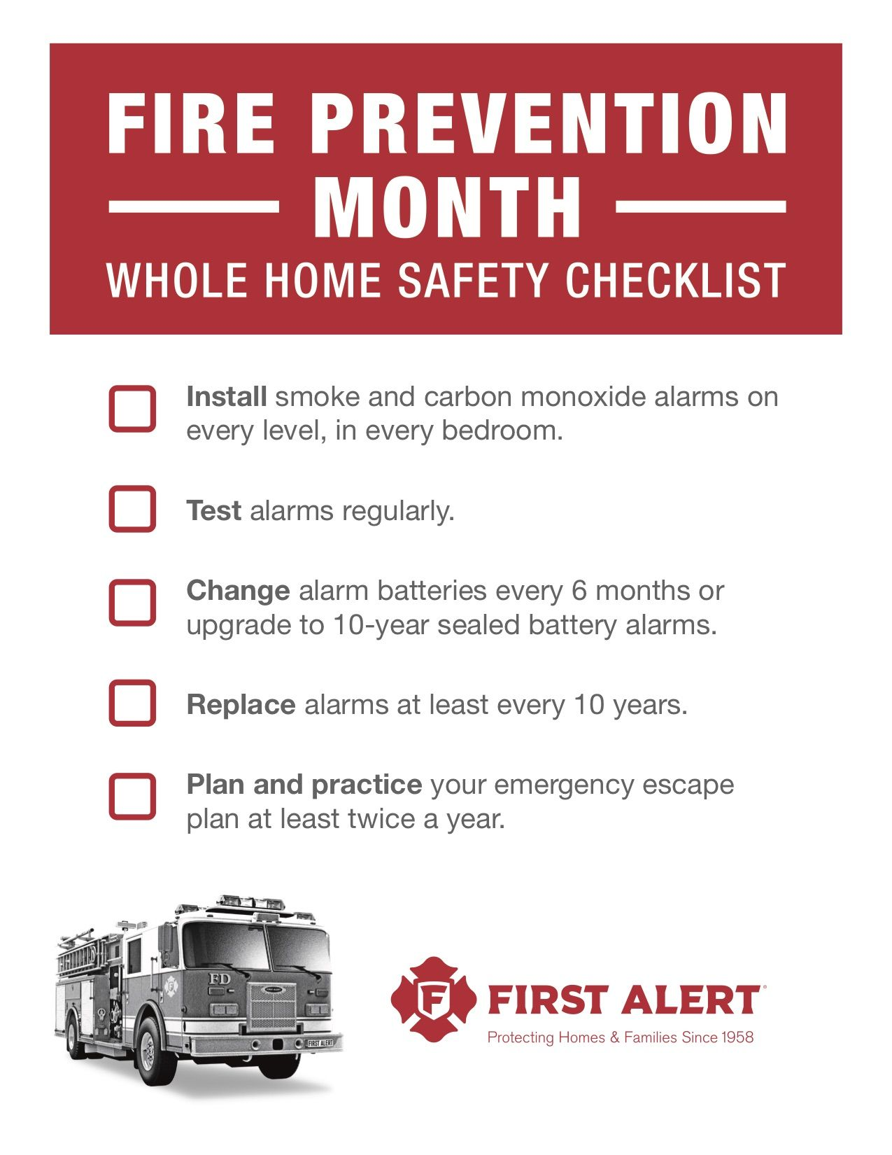 Fire Prevention With First Alert (With images) Fire