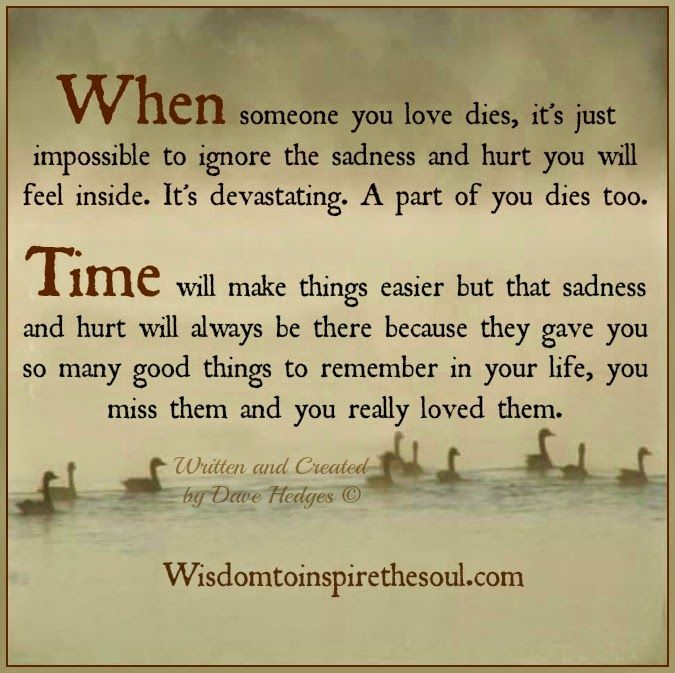 Wr Part My Son Quotes: Wisdom To Inspire The Soul: When Someone You Love Dies, A
