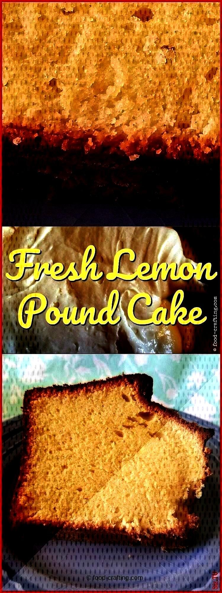 vintage homemade fresh lemon poundcake is not for the faint of heart and no friend of the waistline