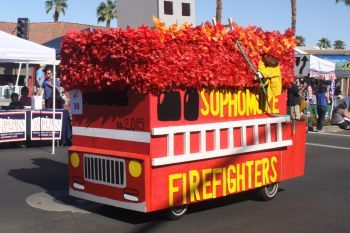 Fire Truck Homecoming Floats Truck Theme