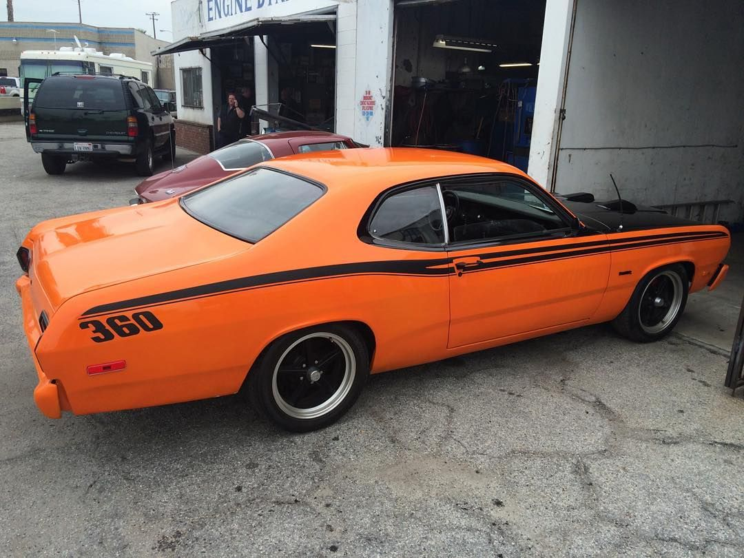 1973 plymouth duster available soon 360 v8 automatic transmission