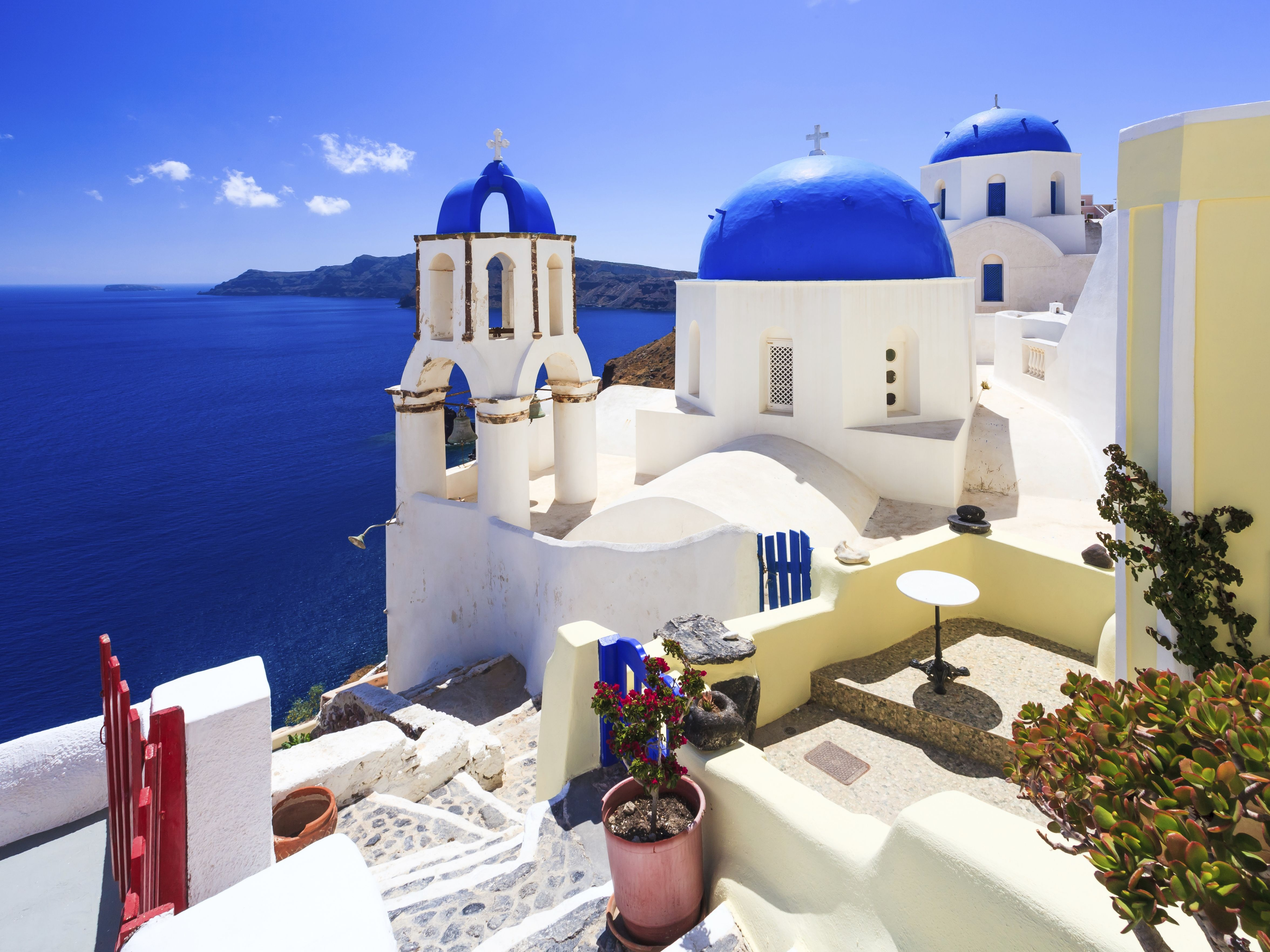 Bright Winter Power Destination The Greek Isles Pure Whitewashed - Trip to greece