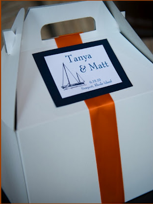 Out-of-Town Boxes for each guest by New England Invitations