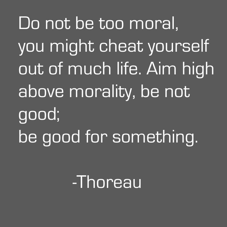 Moral Quotes Thoreau  Relationship  Pinterest  Morality Morals And Thoreau