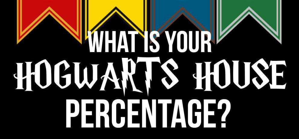 What Is Your Hogwarts House Percentage Quiz Harry Potter Quizz Serdaigle