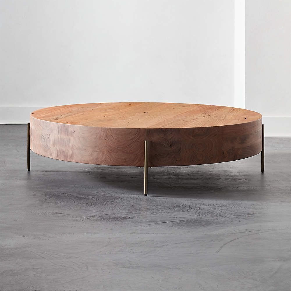 Proctor Low Round Wood Coffee Table Reviews Cb2 In 2021 Coffee Table Wood Round Wood Coffee Table Minimalist Coffee Table [ 1000 x 1000 Pixel ]