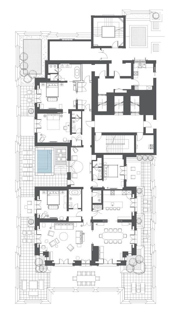 Unit 501 Jpg 600 1066 Pent House Floor Plans Floor Plan Design