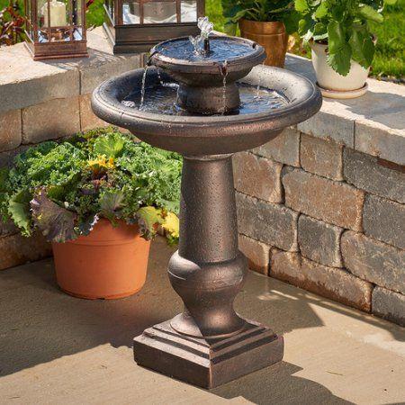 c3322d171e9eea428dc6e367d1fe50cf - Smart Solar Gardens 2 Tier Solar On Demand Fountain