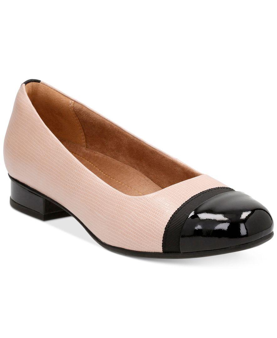 a11c1e8a43 Clarks Artisan Women's Keesha Rosa Flats | Products | Shoes, Womens ...